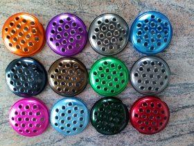 coloured lids