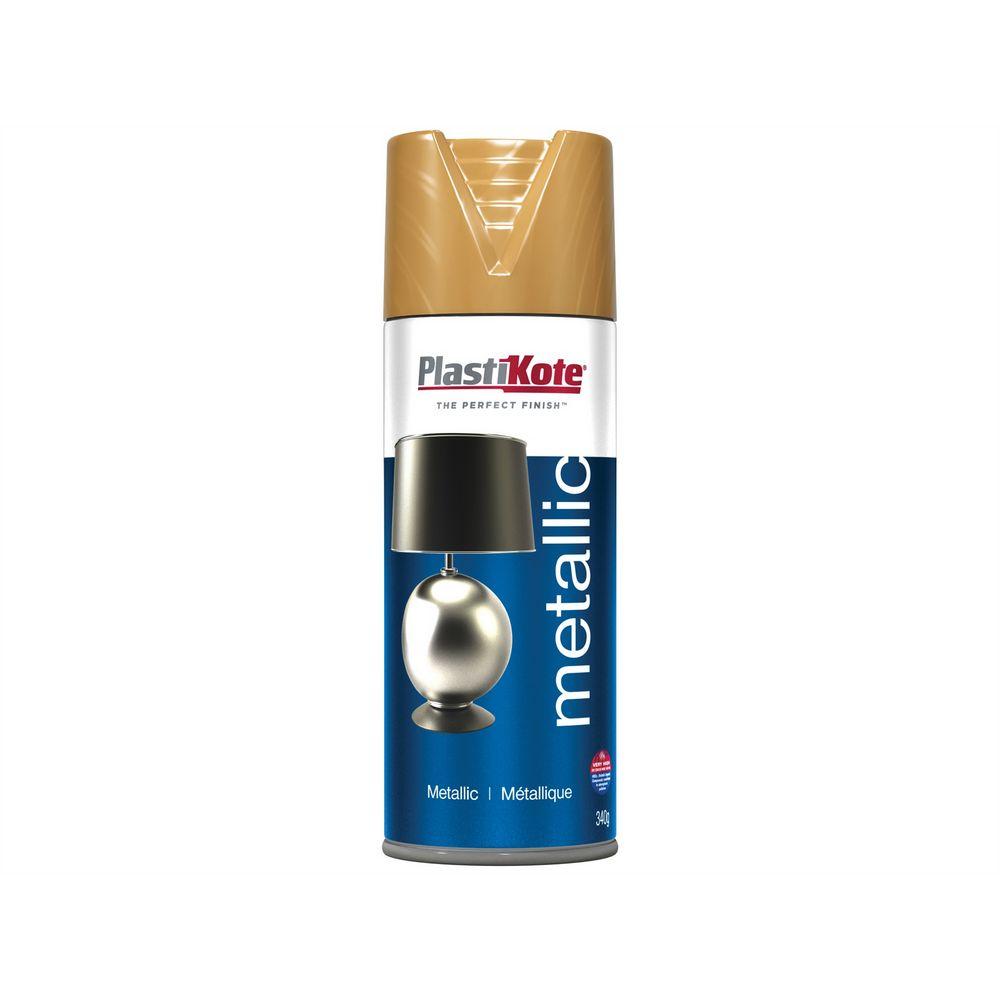 Plastikote Gold Spray Paint Combined Masonry Supplies