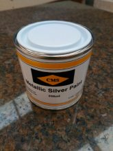 CMS SILVER PAINT